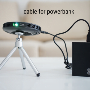 Power Cable to charge your Lenso via Powerbank